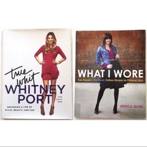 Lot 2 Fashion Books True Whit Style What I Wore